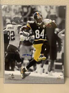 Antonio Brown Signed Pittsburgh Steelers 16x20 Photo JSA
