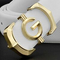 Genuine Leather Men's Belts  fashion g belt men luxury brand Cowskin Waist Strap