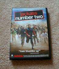 """""""JACKASS Number Two"""" Movie starring Johnny Knoxville on DVD"""