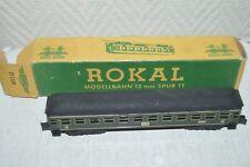 RARE WAGON  VOITURE PASSAGER   D 1228 ROKAL TT  TRAIN BOITE ZUG WAGEN DB 2