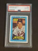 1974 Kellogg's Tom Seaver #52 PSA 10 Gem Mint New York Mets HOF Ebay 1/1