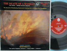 Nicolai Malko Sydney Symphony ORIG OZ LP Death of a wombat EX '61 RCA L16233
