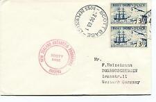 1963 Scott Base Ross Dependency New Zealand Polar Antarctic Cover
