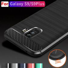 For Samsung Galaxy A8 S9 Plus Case Shockproof Armor Rubber Anti-Slip Cover Shell