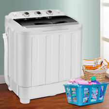 Washing Machine 17.6lbs Home Appliance Top Loard Release Hands Wash Dryer Cycle