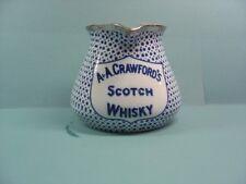 Crawford's Whisky Water Jug / Pub / Whisky Jug/whiskey/pitcher