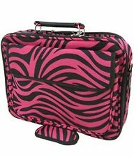 NEW HOT PINK ZEBRA LAPTOP COMPUTER BAG CASE NOTEBOOK SLEEVE 15 INCH LUGGAGE