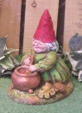 Small Mrs Garden Tomte Nisse Gnome Latex Fiberglass Mold Concrete Plaster