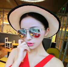 Men's Sunglasses Driving Fishing Aviator Goggles Eyewear Glasses Black Frame