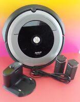 iRobot Roomba 690 Robotic Cleaner Gray/Black + base + 2 virtual walls #Vwal