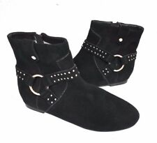 db2e3b7a367d9 New Ted Baker Sonoar Suede Black Women s Ankle Booties Boots Size 37 EU 6.5  US