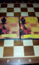 CHESS DVD FOXY OPENINGS # 24 & 25 FRENCH 1 & 2 DANIEL KING