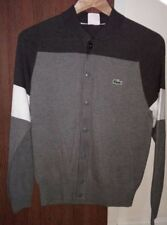 Lacoste Cotton Button-Front Cardigans for Men
