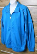 Paul & Shark Yachting Women's Sweater Jacket Full Zip Size: L Made In Italy Blue