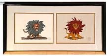 Disney's Lion King Screen-Printed Recreations Of Original Artwork: Sericel.