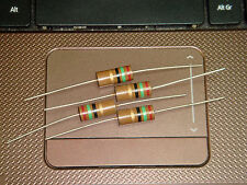 4 X MADE IN JAPAN RIKEN OHM RM2 15R 15 OHM +/-5% 2W AUDIO GRADE CARBON RESISTOR