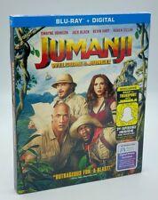 Jumanji: Welcome to the Jungle (Blu-ray+Digital, 2018) NEW w/ Slipcover