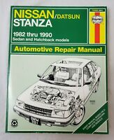 Haynes Repair Manual 82-89 Nissan/Datsun Stanza Sedan & Hatchback