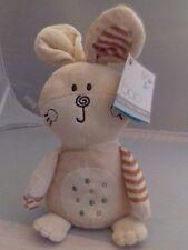 "BNWT Bao 13"" biege bean bag bunny plush. FAST POSTAGE"