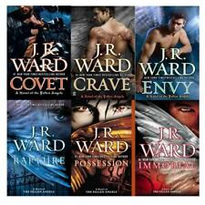 FALLEN ANGELS Paranormal Series by J.R. Ward Set of Paperback Books 1-6