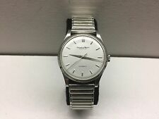 35mm IWC International Watch Co Schaffhausen Cal 853 Stainless Steel 1960s