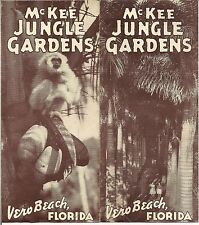 1940s Vtg McKee Jungle Botanical Gardens Vero Beach Florida Africa in America