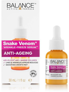 Balance Active Formula Snake Venom Wrinkle-Freeze Serum, 30 Ml, Bv9500