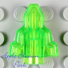NEW Lego Minifig MOON STONE -Plain Trans Bright Green Crystal Rock Moonstone Gem