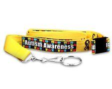 Autism Awareness Breakaway Lanyards (Wholesale Pack 25 Lanyards) FREE SHIPPING