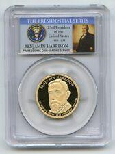 2012 S $1 Benjamin Harrison Dollar PCGS PR70DCAM