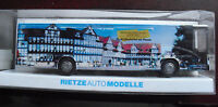 Rietze HO 1/87 Mercedes Benz Reiseburd Schmidt Braunschweiger Zettung Bus NIP