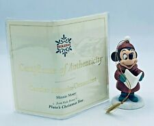 "Walt Disney Classic Collection ""Caroler Minnie Mouse"" Holiday Ornament New w COA"