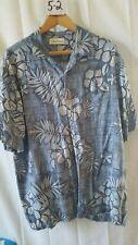 Vintage Men's Hawaiian Shirt Caribbean L 100% Rayon Button Down Floral