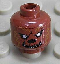 LEGO - Kopf Werwolf braun / Wolfsgesicht / Wolf / Werewolf / 3626bpb0390 NEUWARE