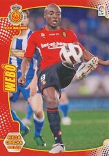 N°197 WEBO KOUAMO # CAMEROON RCD.MALLORCA CARD PANINI MEGA CRACKS LIGA 2012