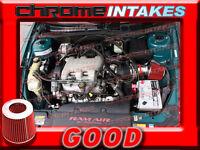 RED 97 98 99 00-05 PONTIAC GRAND AM/ALERO/MALIBU 3.1 3.1L/3.4 3.4L V6 AIR INTAKE