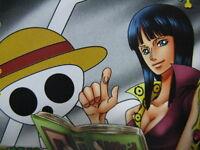 One Piece Card OnePy Berry Match W 8th C306-W N Nico Robin Straw Hat Pirates