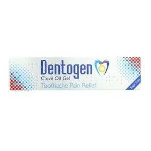 Dentogen  Clove Oil Gel  Sugar Free Toothache Pain Relief 10g