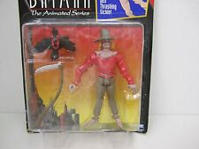 1993 Batman The Animated Series - SCARECROW Action Figure with Thrashing Sickle