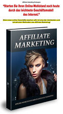 Affiliate Marketing Strategien -Ebook (PDF & Word) & Bonus -PLR/Reseller-Projekt