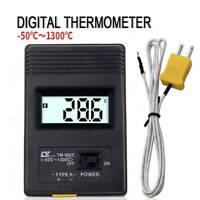 TM-902C Termometro digitale LCD tipo K Termorilevatore Sonde per termocoppia