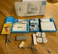 Nintendo Wii White Game Console with Wii Sports In Box Tested!!!
