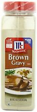 McCormick Brown Gravy Mix 21 oz. - Sauce Seasoning Flavor Cooking Spice Natural