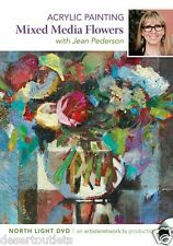 NEW! Mixed Media Flowers With Jean Pederson [DVD]