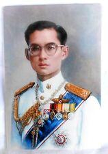 Bild picture König King Bhumibol Adulyadej RAMA IX Thailand 15x10 cm  (s36