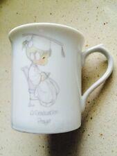 Precious Moments A Graduation Prayer Coffee Tea Mug 1995 Enesco free USA ship