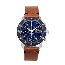 Sinn Pilot Traditional Chrono 103 SA BE Auto Steel Men Strap Watch Date 103.171