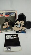 More details for vintage 1970's mickey mouse novelty am portable radio model no. 179 concept 2000