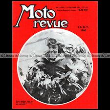 MOTO REVUE N°1513 BENJAMIN SAVOYE URSS CROSS BULTACO 175 ISDT SALON 1960
