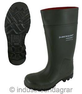 Sicherheitsstiefel Dunlop Purofort S5 Arbeitsstiefel Gummistiefel mit Stahlkappe
